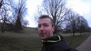 A running selfie?  An internet first, surely.